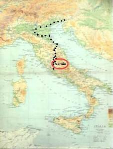 Copia cartina Lewis